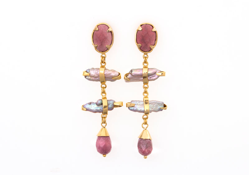 Cayo de Perla Earrings - Medium