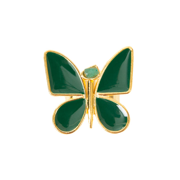 Butterfly Effect Green Ring