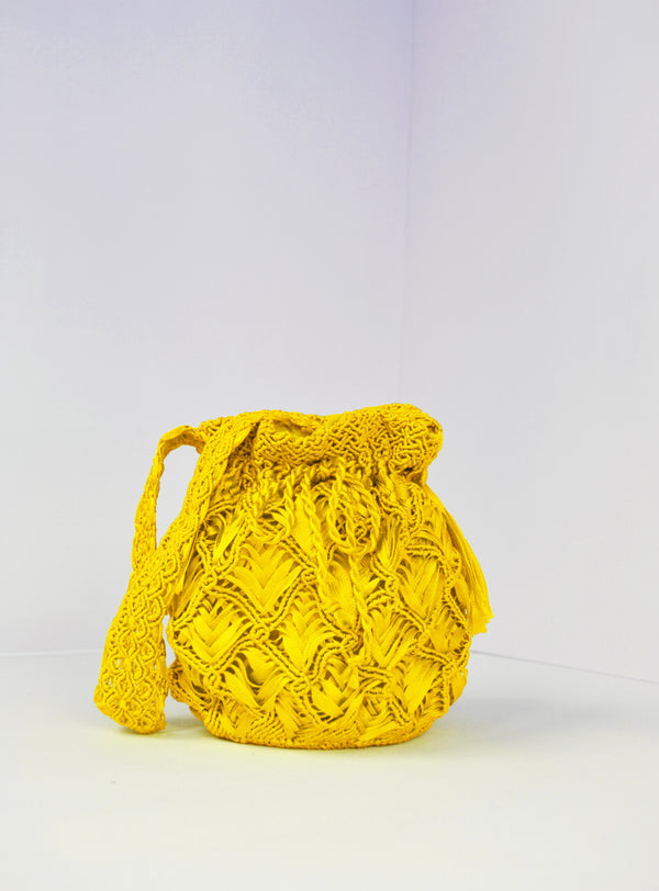 Mini Armor Dormido Mochila Yellow