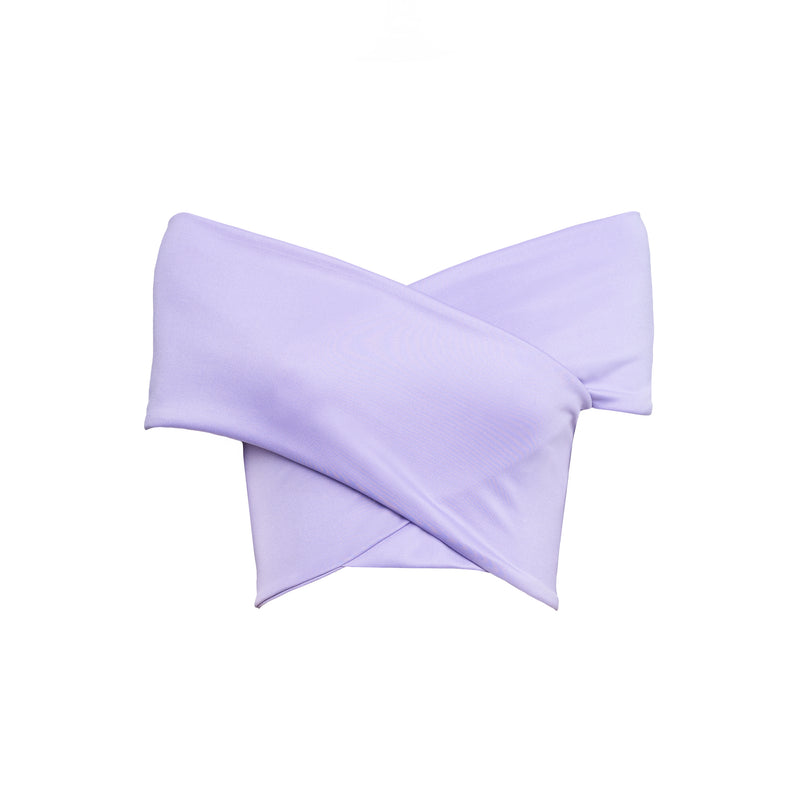 Lilac Larisas Crop Top
