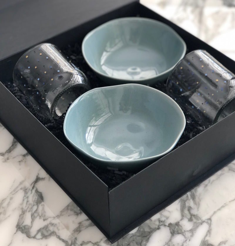 Breakfast for Two Gift Box - Blue