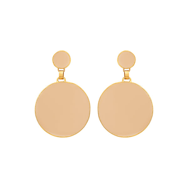 Salim Earrings Nude