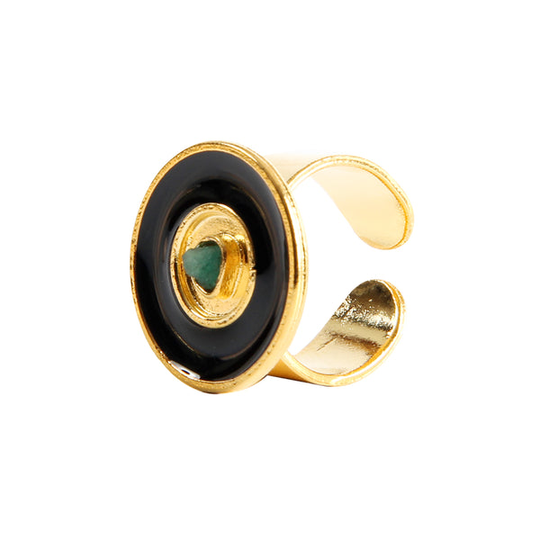 Nature Power Black Ring