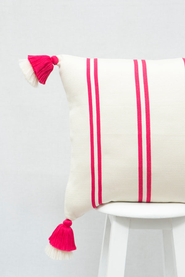 Pompom Cotton Candy Pillow Cover
