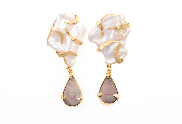 Cayo de PerLa Earrings II