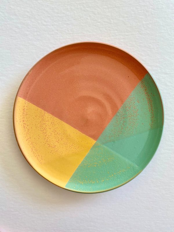 Rainbow Dinner Plate Coral