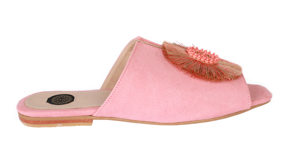Maria Pink Slippers