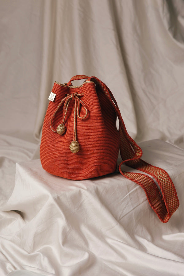 Iconic Medium Bag terracota