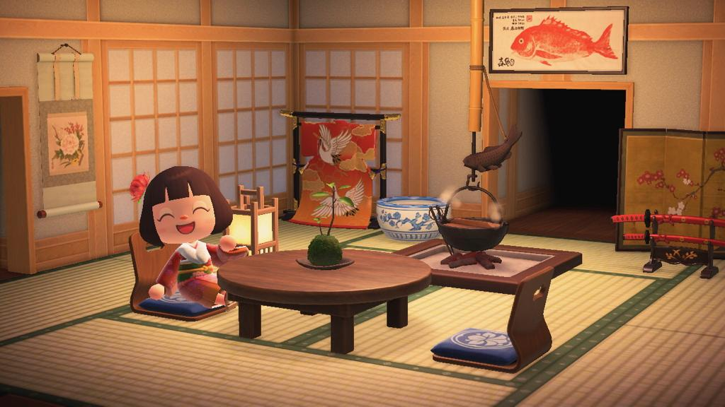 Japanese House Style Theme New Horizons Nook S Bell Store