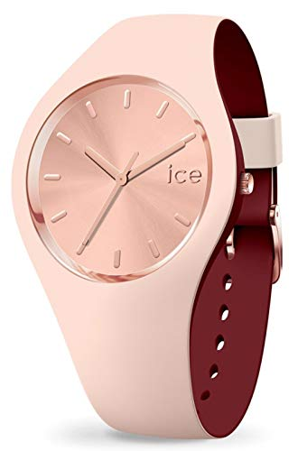 Ice Duo Chic Womens Analogue Quartz Watch with Rubber Bracelet IC016985