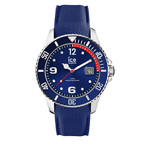 Ice watch ice Steel Mens Analogue Japanese-Automatic Watch with Silicone Bracelet IC015770
