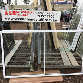 1200h x 2100w New Aluminium Sliding Windows