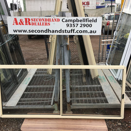 900h x 2100w New Aluminium Sliding Windows