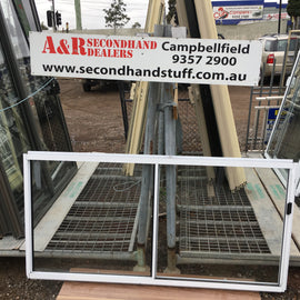900h x 1800w New Aluminium Sliding Windows