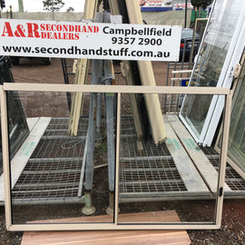 1200h x 1800w New Aluminium Sliding Windows