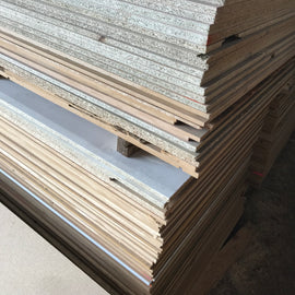 900 x 3600 16mm Raw Chipboard Sheets
