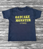 Oatcake Monster Black T-shirt