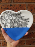 Blue Bottle Kiln Heart Plate