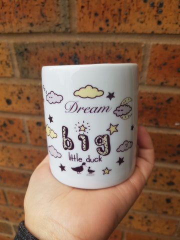Dream big money box