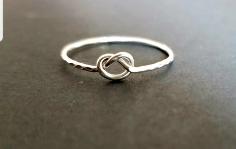Staffordshire Knot Silver Ring