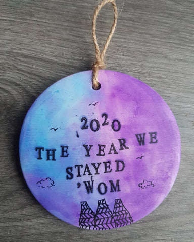 Large 2020 Decoration