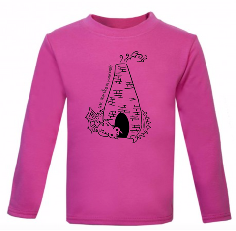 Kids Long Sleeve Dragon Kiln T