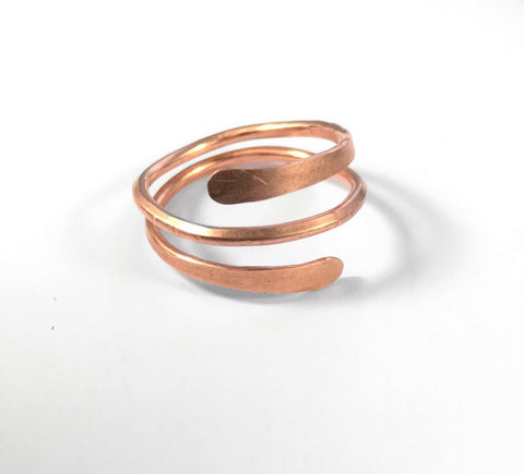 Simple Coil Copper Ring