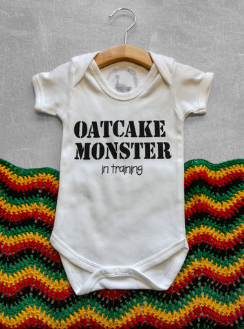 Oatcake Monster Baby Vest