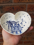Heart Bowl - Splatter Kiln