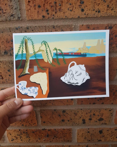 Persistence of Oatcakes Print