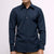 Active Point Collar Shirt - Navy