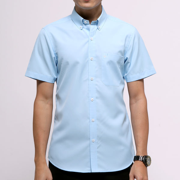 Active Short Sleeve Shirt - Blue