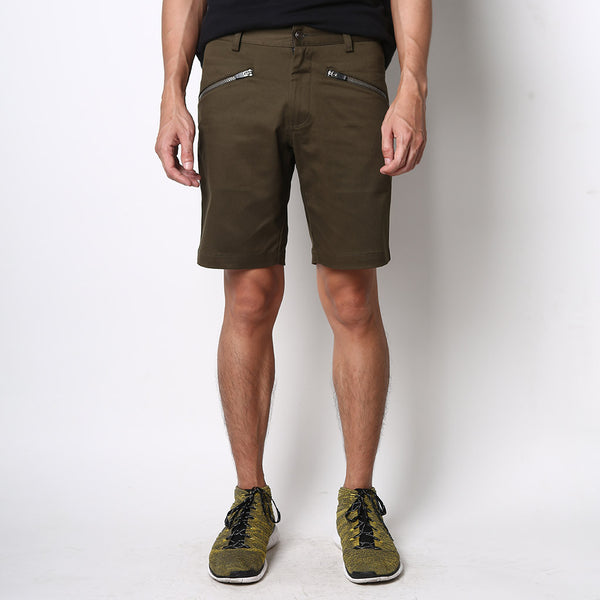 All-Round Shorts - Army Green - Friday People - 1