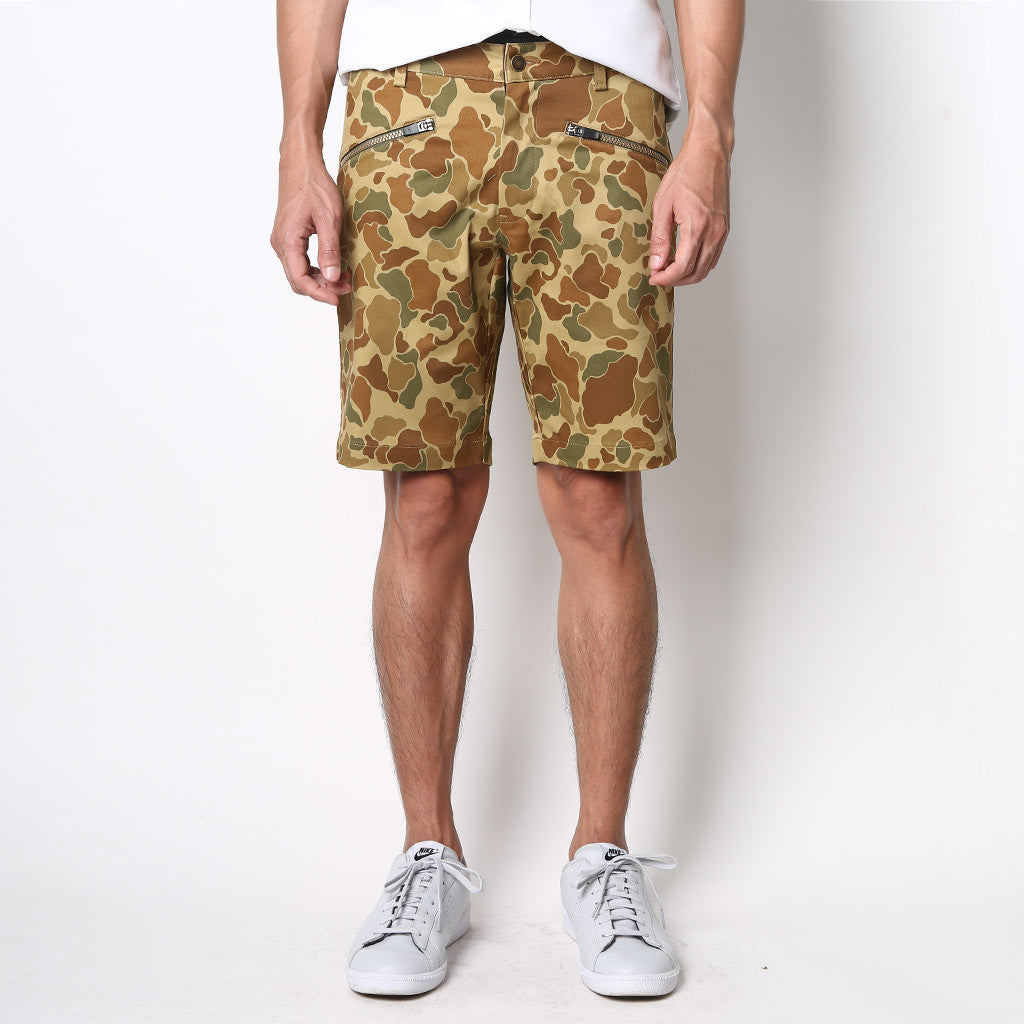 All-Round Shorts - Camo - Friday People - 1