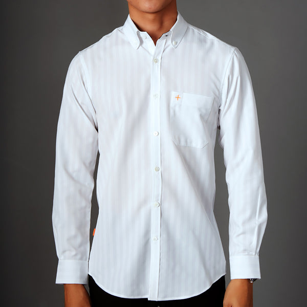 Active Long Sleeve Shirt - Stripe
