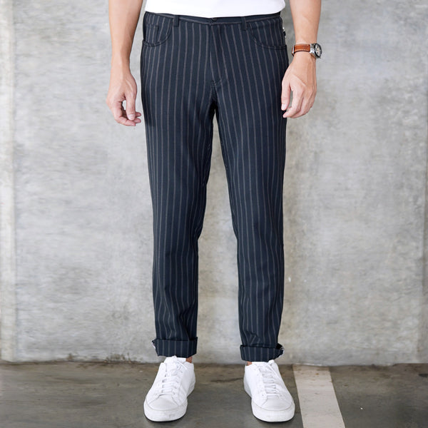 Urban Pants - Stripe Grey