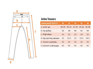 Active Trousers - Grey - Friday People - 10