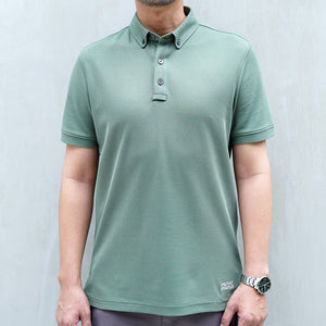 Active Polo - Military Green (available size : XL only)