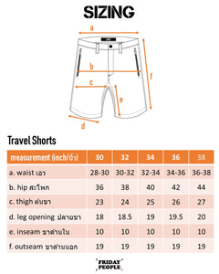 Travel Shorts - Ash Grey
