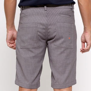 "Travel Shorts - Grey Stripe (available size : 30,36"")"