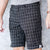Urban Shorts - Black Check