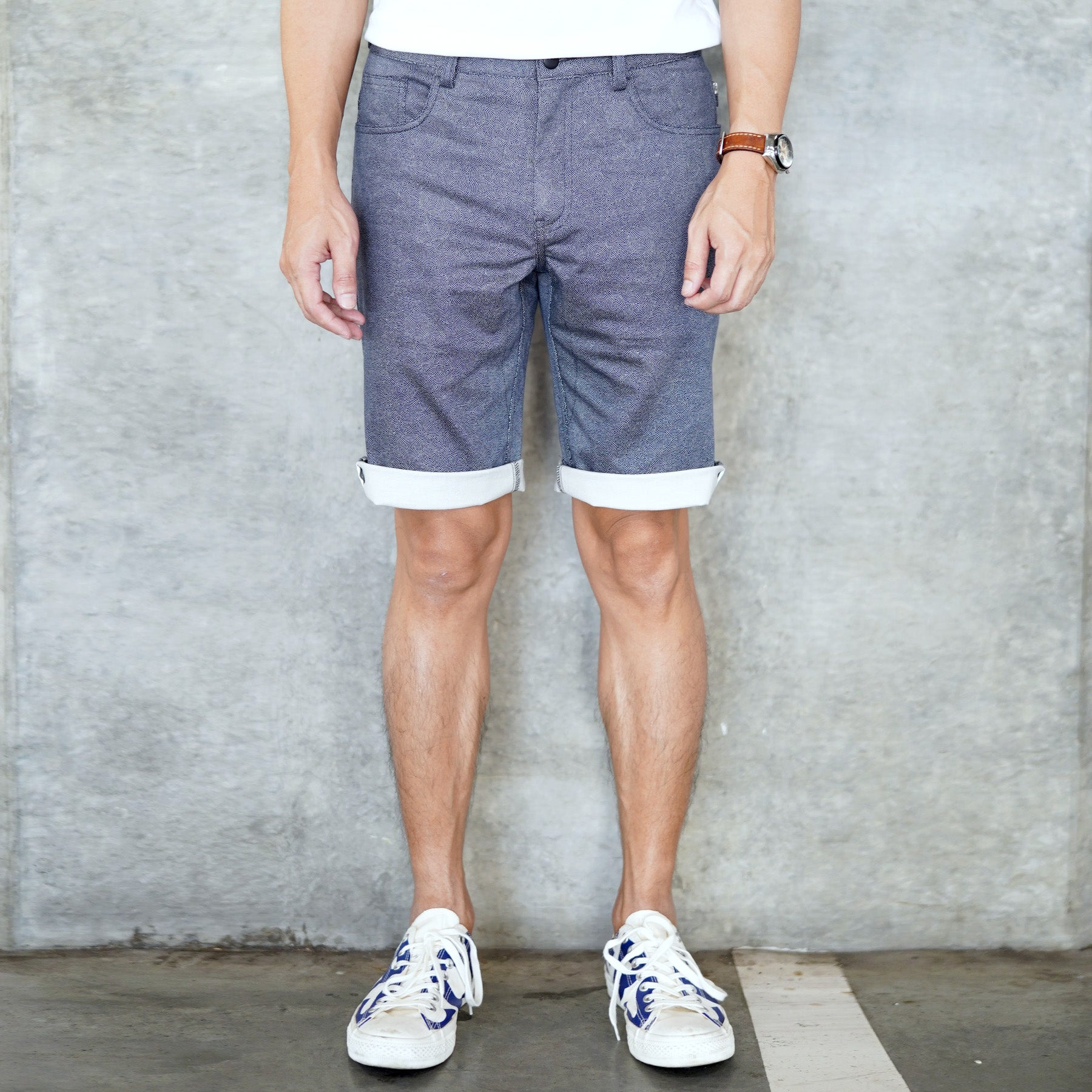 Urban Shorts - Blue Circle