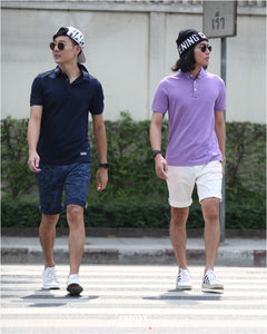 FRIDAY PEOPLE ACTIVE POLO NAVY