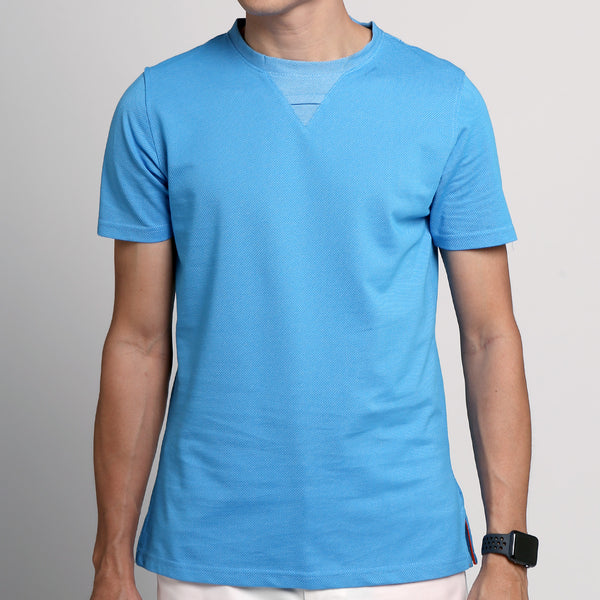 FRIDAY PEOPLE DRY TEE BLUE