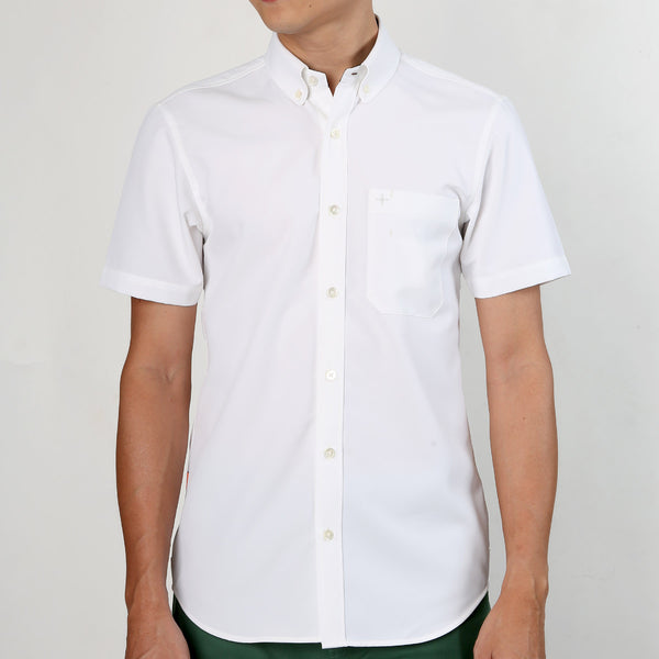 Active Short Sleeve Shirt - White