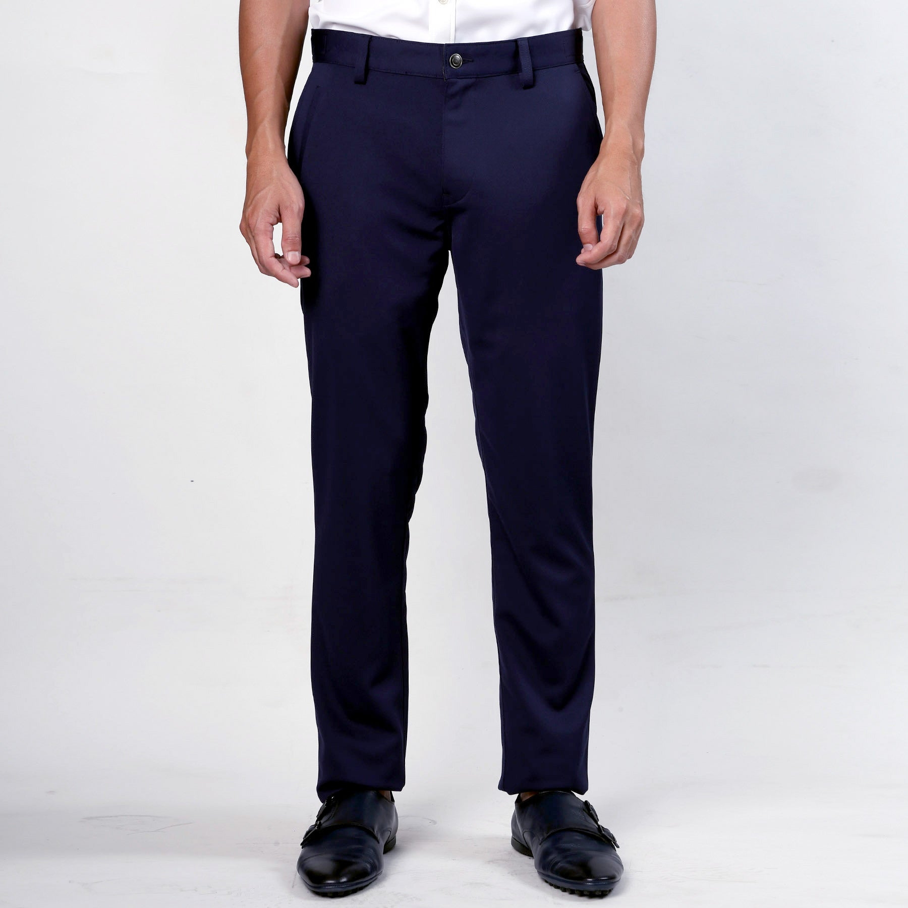 Relaxed Active Trousers - Navy