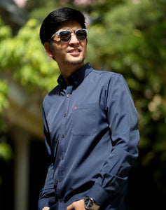 Active Long Sleeve Shirt - Navy