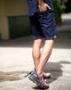 urban shorts travel cycling japan bangkok menswear navy