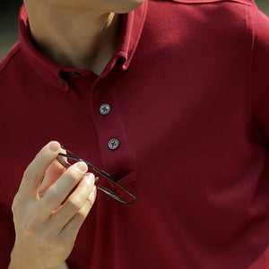 Active Polo - Burgundy