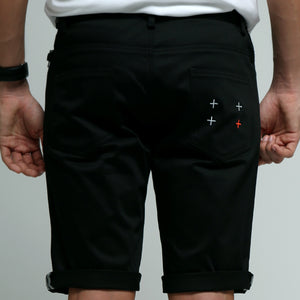 FRIDAY PEOPLE URBAN SHORTS BLACK CYCLING